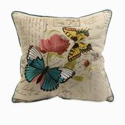 Imax, Margaret Embroidered Butterfly Pillow (97017)