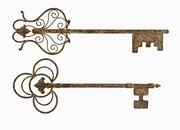 Imax, Chateau Key Wall Decor - Set of 2 (97056-2)
