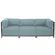 Howard Elliott Sterling Breeze Axis 3pc Sectional - Titanium Frame