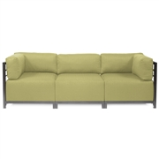 Howard Elliott Sterling Willow Axis 3pc Sectional - Titanium Frame