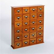 Leslie Dame Library Card File Multimedia Cabinet [CD-288]