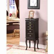 Nathan Direct Morris 5 Drawer Jewelry Armoire [J1006ARM-M]