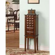 Nathan Direct Diamond 6 Drawer Jewelry Armoire [J1013ARM-SM]