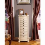 Nathan Direct Muscat 8 Drawer Jewelry Armoire [J1016ARM-L]