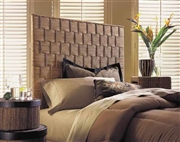 Padma's Plantation Rattan Weave Headboard - Twin