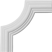 Bradford Smooth Panel Molding Corner PML04X05BR
