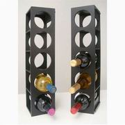 Proman Poducts, Rutherford Wine Racks Black [WX16562]