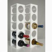 Proman Poducts, Rutherford Wine Racks White [WX16563]