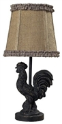 1 Light Sterling Mini Rooster Table Lamp [93-91392]
