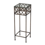 Sterling Cheadle-Moorish Pattern Accent Table