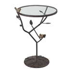 Sterling Kimberly-Birds On A Branch Accent Table
