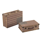 Sterling National-Wooden Storage Cases