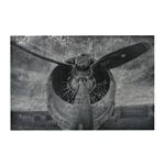 Sterling Alton-World War Ii Airplane Print Etched Print On Aluminium