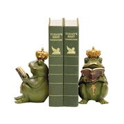 Sterling Pair Superior Frog Gatekeeper Bookends 32325