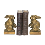 Sterling Sterling Pair Of Baby Rabbit Bookends