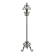 Sterling Iron Coat Rack In Bowen Bronze