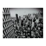 Sterling Manhattan-New York City Image Printed On Glass