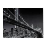 Sterling Williamsburg Bridge-Williamsburg Brige Image Printed On Glass