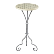 Sterling Ayer-Large Plant Stand In Grey / White Painted Finish