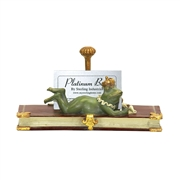 Sterling Superior Frog Card Holder