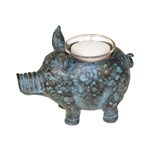Sterling Sterling Little Pig Votive Candle Holder