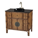 Sterling Sheerwater Bamboo Vanity Unit by Sterling
