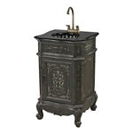 Sterling Raintree Antique Grey Vanity Unit by Sterling