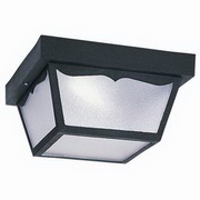 Outdoor Ceiling Energy Star 2-Light Flush Mount
