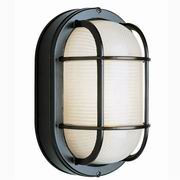 Trans Globe Lighting, 1 Light Bulkhead [41005]| Select Your Finish| Black