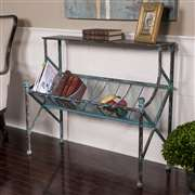 Uttermost  Generosa Iron Bookshelf Table