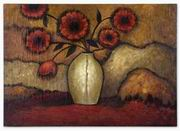 Uttermost  Red Poppies Floral Art