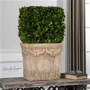 Uttermost  Boxwood Hedge Planter
