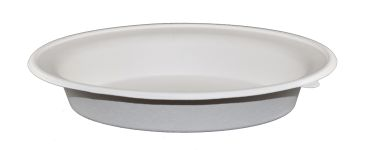Compostable Oval Bowl-32 Oz - 250/Cs (2 X 125)