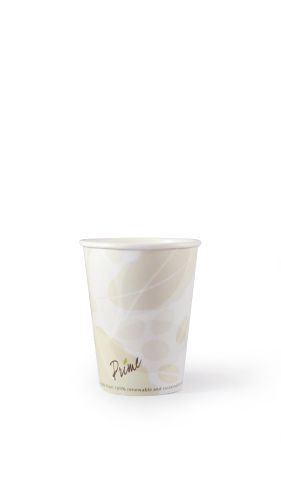 Hot Cup-12 oz-Compostable-PLA Lined - 1000/Cs (20 X 50)