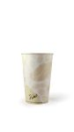 Hot Cup-16 oz-Compostable-PLA Lined - 1000/Cs (20 X 50)
