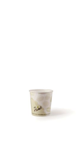 Hot Cup-4 oz-Compostable-PLA Lined - 1000/Cs (20 X 50)