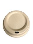 Fiber Hot Cup Lid-12-24 oz-Compostable - 1000/Cs (20 X 50)