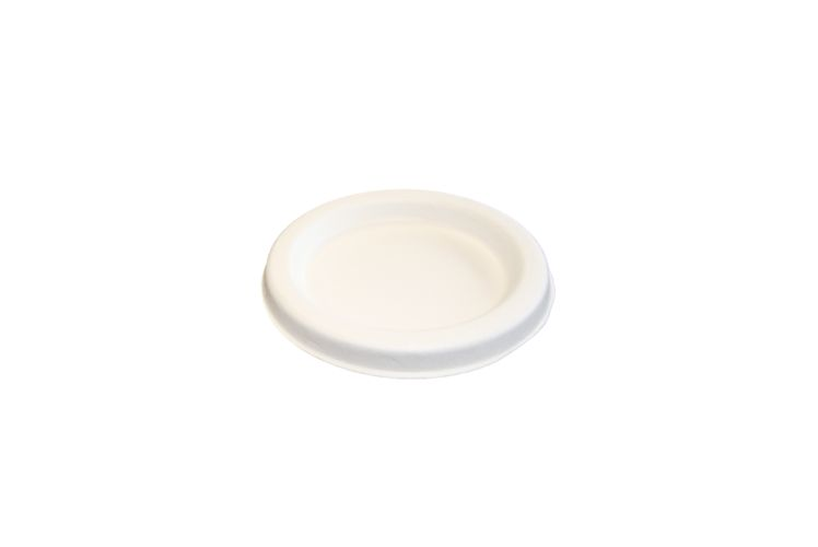Compostable Portion Cup Lid-2 Oz - 2500/Cs (25 X 100)