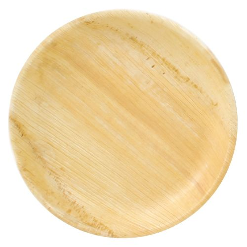 "Compostable Palm Leaf Round 10"" Plates"