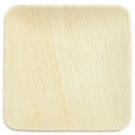 6 Inch Square Palm Leaf Plates
