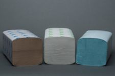 Single Fold Towels Recycled Kraft - 12/Cs
