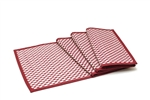 Hand Woven Talipot Grass Checkered Place Mats (4 Pcs.)