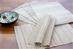Hand Woven Banana Bark Placemats ( 4 Pcs.)
