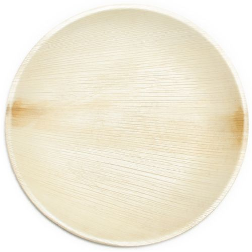 Compostable Palm Leaf Plates, Ecoplates, Leaf Plates made from fallen leaves