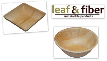 Compostable Palm Leaf Bowls - Sample Pack