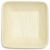 "Compostable Palm Leaf Square 3"" Plates (25 Plates)"