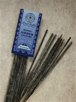 Honey Amber Incense: Plastic Package / Incense: 10 Sticks