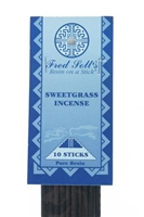 Sweetgrass Incense: Plastic Package / Incense: 20 Sticks