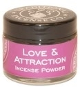 Love & Attraction Incense Powder: 20gm/Powder/Jar