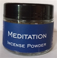 Meditation Incense Powder: 20gm/Powder/Jar